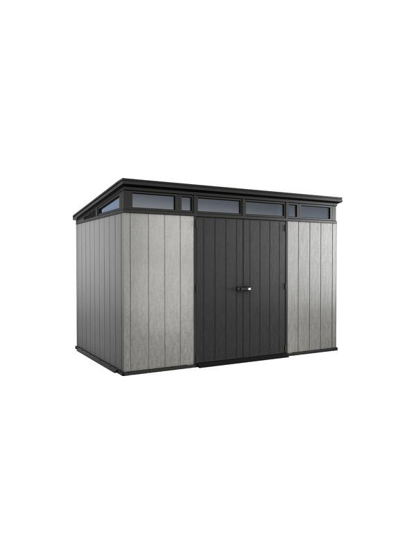 Хозяйственный блок Artisan 11x7 (7,5 м2), серый
