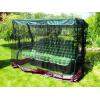 Москитная сетка для садовых качелей «Универсальная» (черная + бордовый волан)