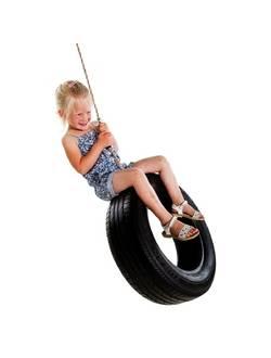 Веревка для подвешивания вертикальных детских качелей из автопокрышек
