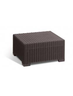 Пластиковый стол California коричневый 201390