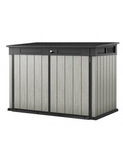 Сундук шкаф GRANDE STORE, серый