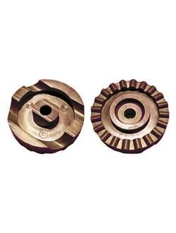 Опора дуги тента крыши качелей Ольса (фиксатор тента - коричневый)