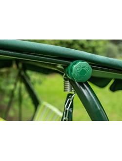 Фиксатор крыши (узел-зеленый) для садовых качелей Ольса