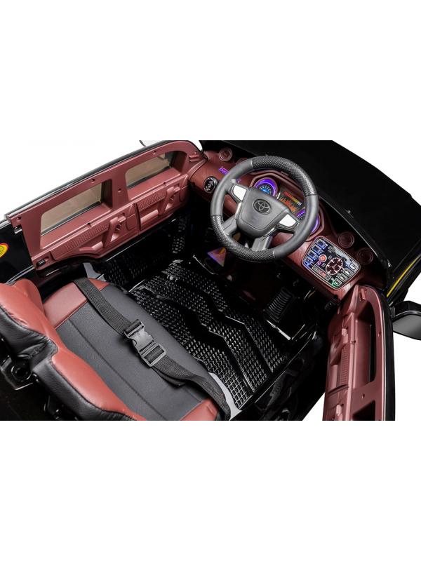Детский электромобиль Kid's Care Toyota Land Cruiser Prado 4x4 (белый)
