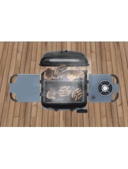 Гриль газовый Sahara X150 2 Burner BBQ, черный/серый