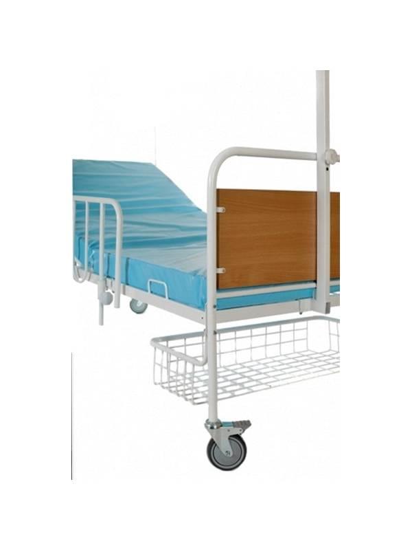 Кровать медицинская (Авиценна-3) с1122м на колесах (модернизированная)