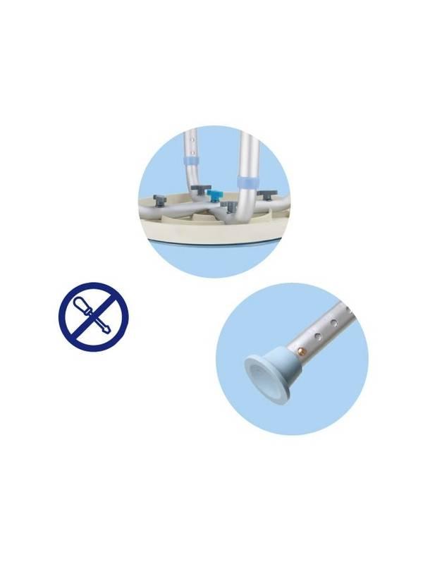 Стул для ванной (поворотное сиденье) Heiler BA315