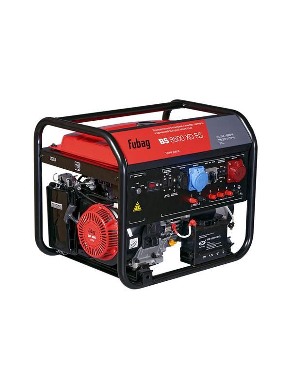 Генератор бензиновый FUBAG BS 8500 XD ES Duplex