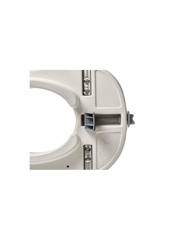 Сиденье-насадка для унитаза со съемными поручнями BradexKZ 0932