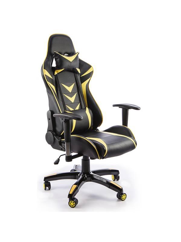 Офисное кресло Calviano MUSTANG yellow/black
