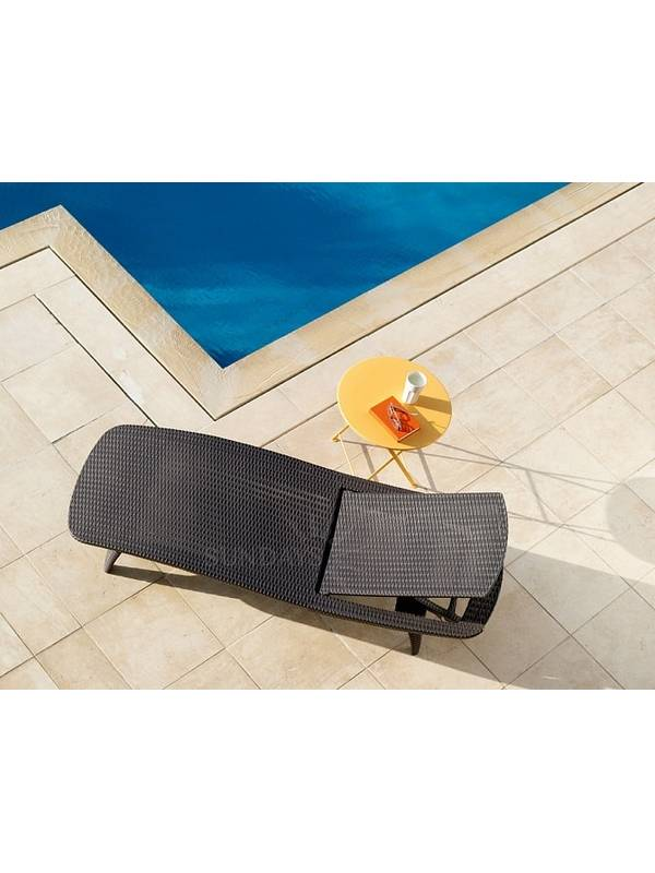 Шезлонг лежак KETER Sun Lounger Pacific, коричневый